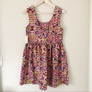 Billabong Floral scoopneck sleeveless dress